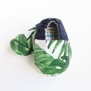 Soft Sole Baby Shoes 100% Cotton Tropical